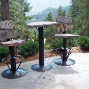 Swivel Idaho Gray Bar Set