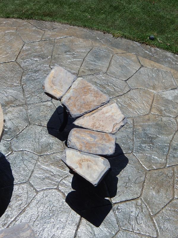 Stone Bench Garden