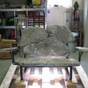 Stone-Loveseat