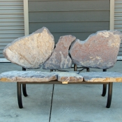 Ilo Bench, Stone Bench