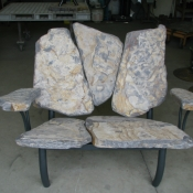 Loveseat, Stone Bench