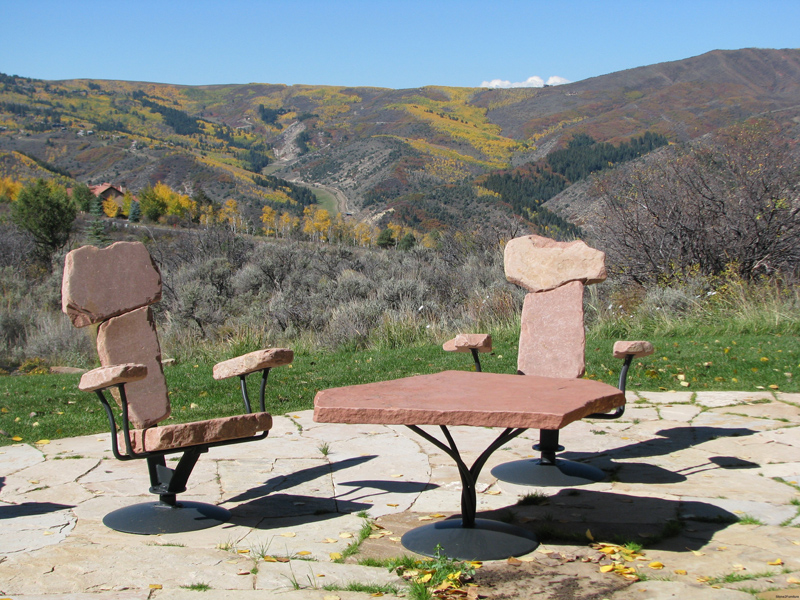 Lovely Rock Chairs