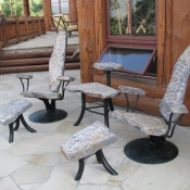 Deep Seating Idaho Gray with Aluminum Frames