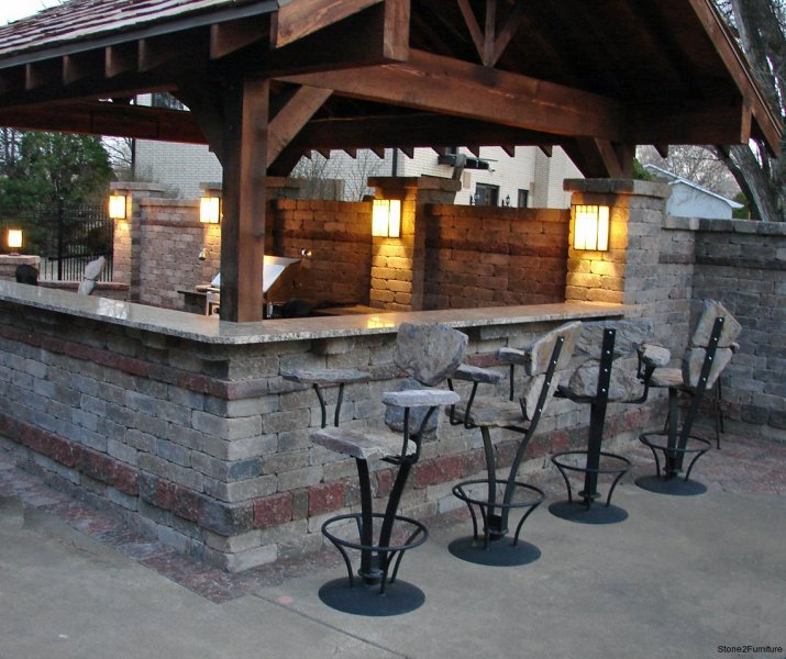 9 Outdoor Patio Kitchens For Party Perfect Entertaining: Outdoor Kitchen Seating & Dining