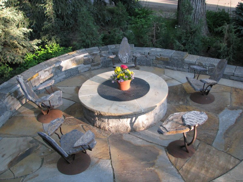 Firepit Seating Cool Fire Pit Seating  Stone2Furniture  Outdoor Furniture  Pool . Design Ideas