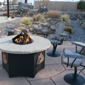 Fire-Pit-Chairs-Stone