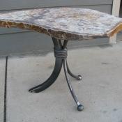 Classic 3 Leg Idaho Gray Table, Stone Table